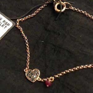 Tous 18k rose gold plated bracelet